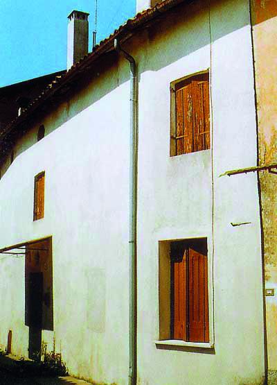La casa natale del Beato.